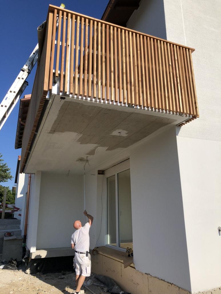 Malerarbeiten an Hausfassaden in Zürich - Honegger & Sutter